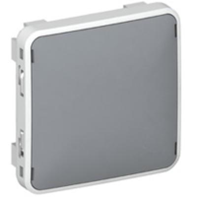 LEGRAND - Enjoliveur obturateur Plexo - gris - REF 069537