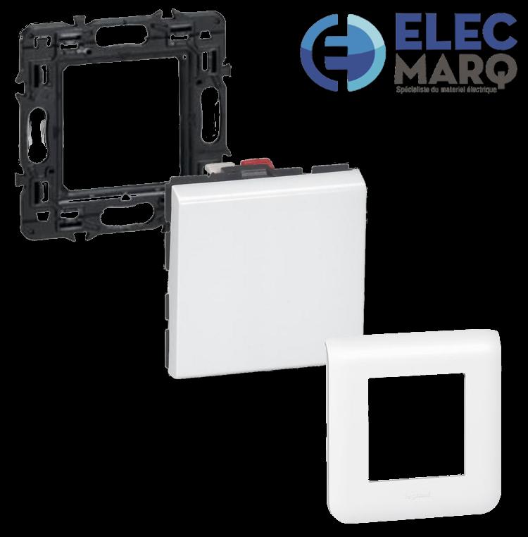 Les Complets LEGRAND Mosaic - Va et Vient - 2 Mod 10 AX avec Elecmarq