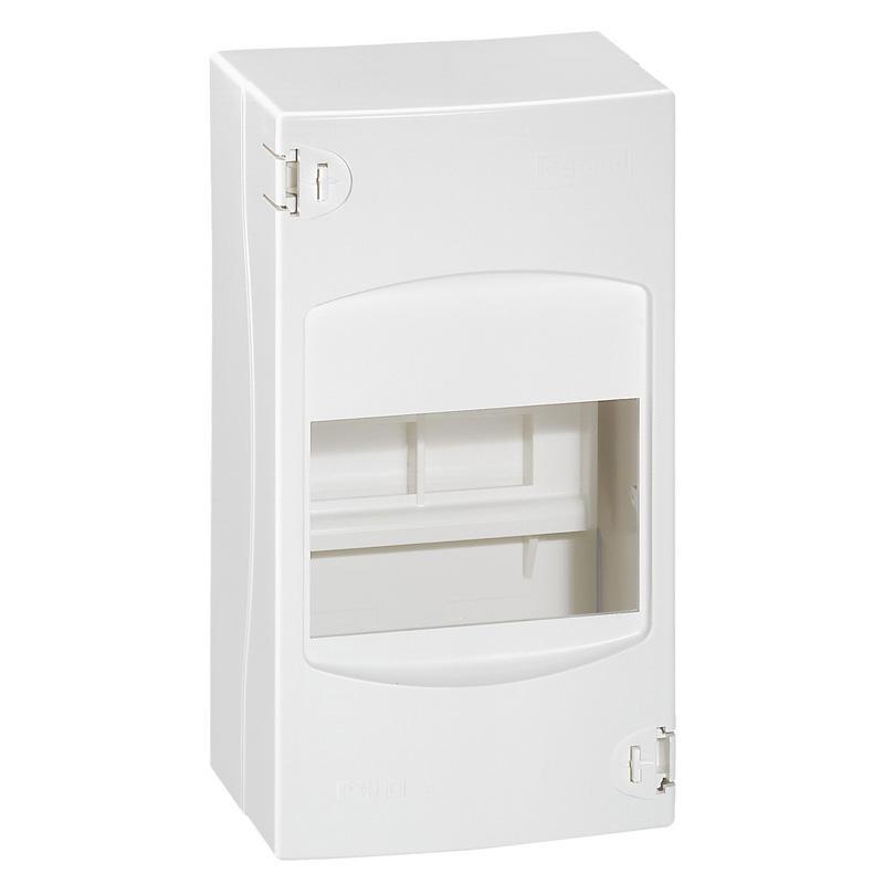 LEGRAND Coffret cache-bornes 4 modules blanc - Réf 001304