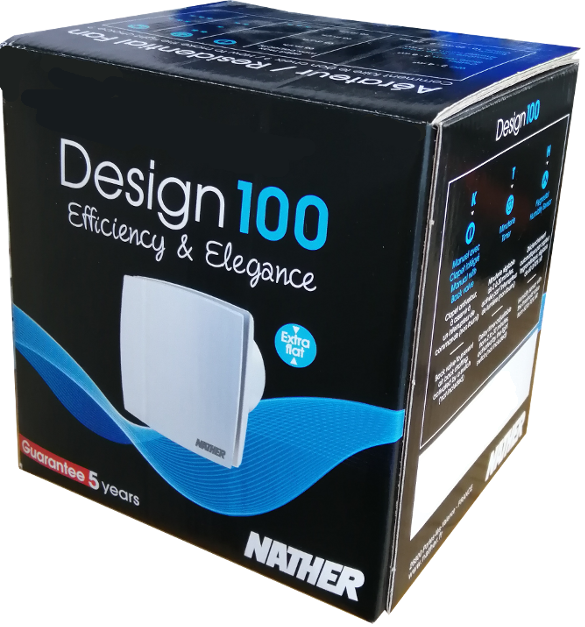 NATHER Aérateur Design 100K Ø 100 - Ref 549018