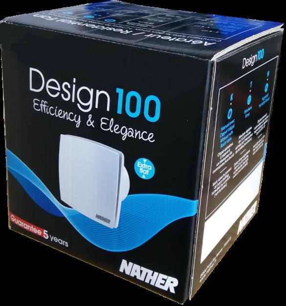 NATHER Aérateur Design 100KTH Ø 100 - Ref 549020