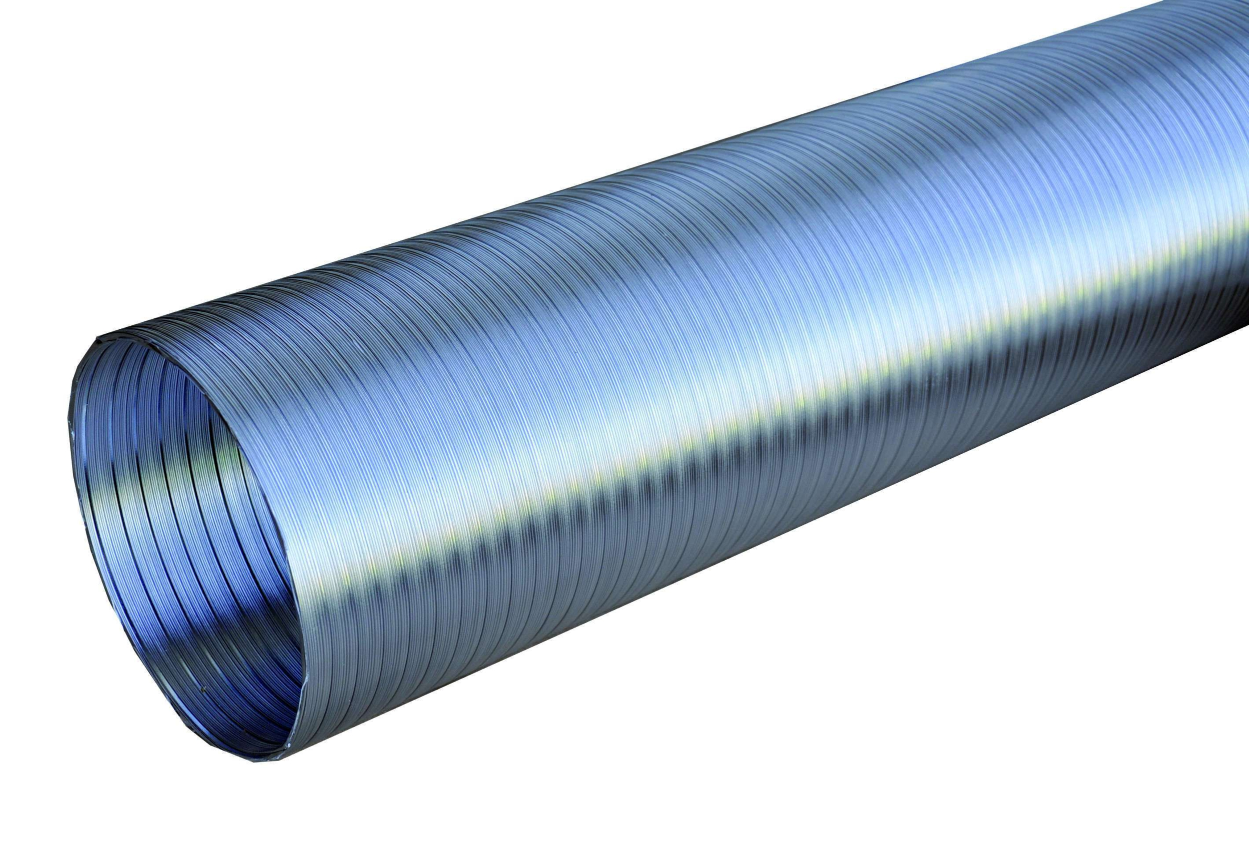 NATHER Conduit semi-rigide en aluminium Ø 125 - Ref 546099