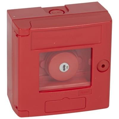 LEGRAND Coffret bris de glace coup de poing IP44 rouge - montage en saillie Réf 038003