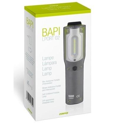 ZEMPER - Lampe portable pour locaux techniques - Réf - LPORT02