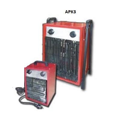 Chauffage mobile 3000W/230V mono - pour chantier - Réf - APK3