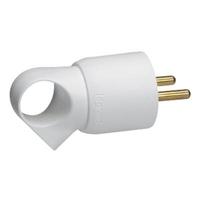 LEGRAND - Fiche plastique 2P+T 16A à anneau - blanc - Réf - 050420