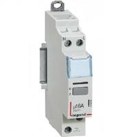 LEGRAND -  Télérupteur silencieux à vis 230 V~- 1P - 250 V~ - 16 A - 1F - 1 mod - REF 412400