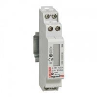 LEGRAND - Compteur d'énergie monophasé EMDX - non MID - raccdt direct 32 A - 1 mod - REF 004670