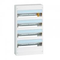 LEGRAND - Coffret Drivia 18 modules - 4 rangées - IP30 - IK05 - Blanc - REF 401224