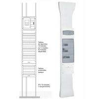 LEGRAND - Goulotte GTL - 65x250 mm - avec couvercle complet - long réglable 2,45 à 2,60 m - REF 030037