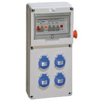 DIGITAL ELECTRIC - Coffret de chantier / distribution 4 PC 2P+T 16A - REF 31132