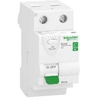 SCHNEIDER ELECTRIC - Resi9 XE - interrupteur différentiel - 2P - 63A - 30mA - Type AC - 2 Modules - embr -  REF R9ERC263
