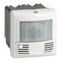 LEGRAND - Interrupteur détecteur présence Prog. Mosaic ECO 3 fils blanc - Réf - 078452