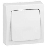 LEGRAND - Interrupteur va-et-vient appareillage saillie complet - blanc - REF 086001