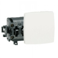LEGRAND - Interrupteur va-et-vient appareillage saillie composable - blanc - REF 086101