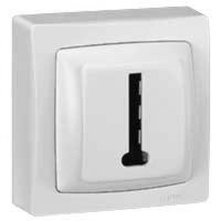 LEGRAND - Prise téléphone 8 contacts appareillage saillie complet - blanc - REF 086038
