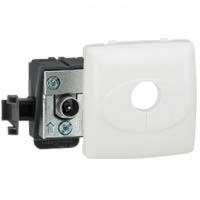 LEGRAND - Prise TV simple - mâle - appareillage saillie composable - blanc - REF 086140