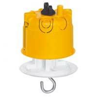 LEGRAND - Boîte luminaire Batibox - cloison sèche - couvercle DCL - pour point de centre - REF - 089337