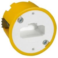 LEGRAND - Boîte luminaire Batibox - cloison sèche - pr applique à bornes auto - prof 50 mm - REF 089305