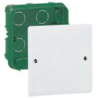 LEGRAND - Boîte complète Batibox pour dérivation - rectangulaire - 85x85x40 mm - REF 089271