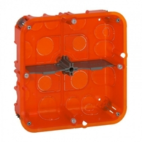 LEGRAND - Boîte multimatériaux Batibox - grand format - 2x2 postes / 2x4/5 mod - prof 50 - REF 080124