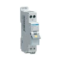 HAGER - Disjoncteur 1P+N 3kA C-10A SansVis 1M - Ref MFS710