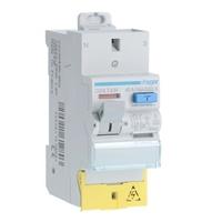 HAGER - Interrupteur différentiel  2P 40A 30mA A SanVis - Ref CDS743F