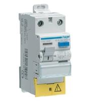 HAGER - Interrupteur différentiel - 1P+N 63A 30mA HI BD - Ref CDH163F
