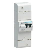 HAGER - Disjoncteur de branchement différentiel -  2P 30/60A 500mA inst. - Ref HDB260
