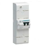 HAGER - Disjoncteur de branchement différentiel Monophasé - 2P 30/60A 500mA sel - Ref HDB260S