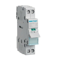 HAGER - Interrupteur Sectionneur 2P - 16A - Ref SBN216