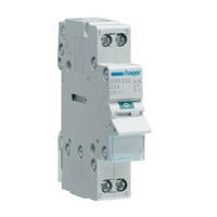 HAGER - Interrupteur Sectionnaire - 2P - 32A - Ref SBN232