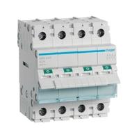 HAGER - Interrupteur Sectionneur - 4P - 40A - Ref SBN440