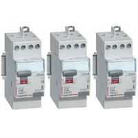 LOT LEGRAND - 3 Interrupteurs différentiels - 40A - REF - 411617