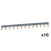 LEGRAND - LOT de 10 Peignes d'alimentation universel Phase + Neutre HX - ref 404926