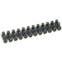 LEGRAND - Barrette de connexion Nylbloc - cap 2,5 mm - noir - REF 034211