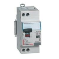 LEGRAND - Disjoncteur différentiel DX³4500 arrivée haute et départ bas à vis U+N 230V~ - 40A typeAC 30mA - courbe C - 2 modules - Réf - 410709