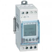 LEGRAND - Interrupteur horaire programmable digital - auto - multifonction -1 sortie 16A - 250V~ Ref 412631