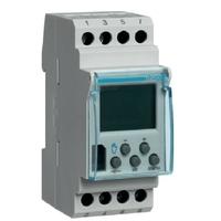 HAGER - Interrupteur horaire élec base 1 voie 7j 2M - Ref EG103B