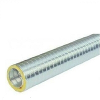 Thermor - Gaine aluminium semi-rigide calorifuge et isolée Ø160mm - 2m - ref 900364