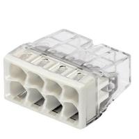 WAGO - Boîte de 50 Bornes pour boîte de dérivation 8 x 0,5 - REF 2273-208