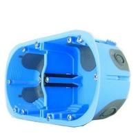 Eur'Ohm - Boîte d'encastrement XL AIR'métic - 2 Postes - Diam. 67 mm x Profondeur 40 mm - REF 52064