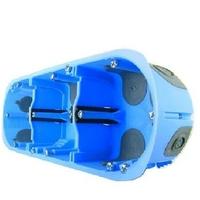 Eur'Ohm - Boîte d'encastrement XL AIR'métic - 3 Postes - Diam. 67 mm x Profondeur 40 mm - REF 52066