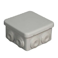 Eur'ohm - Boite Dérivation étanche Eco  et industrie - IP55 - 80X80X45 - 960 - REF 50033