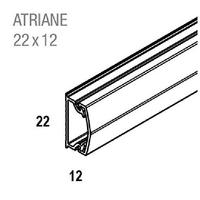 REHAU - Moulure sans cloison - Atriane - 22X12 mm - Ref - 735700-100