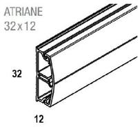 REHAU - Moulure sans cloison - Atriane - 32X12 mm - Ref - 735710-100