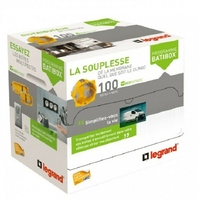 LEGRAND - Distributeur 100 boîtes Ecobatibox - prof. 50 mm  Réf - 080013