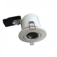 MIIDEX - Support spot Orientable BBC  100 mm + douille automatique - finition blanc - REF - 7719