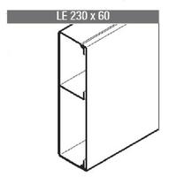 REHAU - Goulotte LE - 230 x 60 - 2 mètres - REF - 727964-100