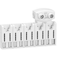 SCHNEIDER ELECTRIC - Resi9 XE répartiteur système embrochable - 5 modules - avec connecteur - Ref R9XHC05